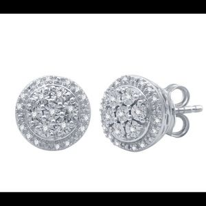 Genuine Diamond Sterling Silver